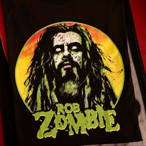 Rob zombie t shirt tee